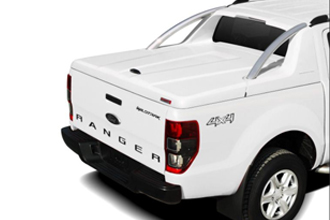 GRX Tonneau Cover with Sport Bar available for the VW Amarok, Toyota Hilux & Isuzu D-Max from the 1st January 2014