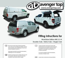 Fitting instructions for WorkStyle Edition. Double-Cab/Extra-Cab/Single-Cab