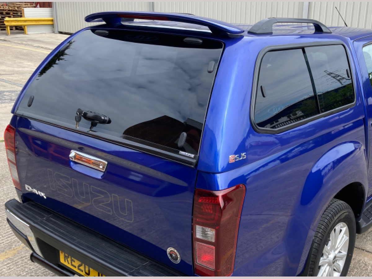 Chevrolet Colorado MK3 (2012-ON) SJS Hardtop Double Cab - Central Locking Optional Extra