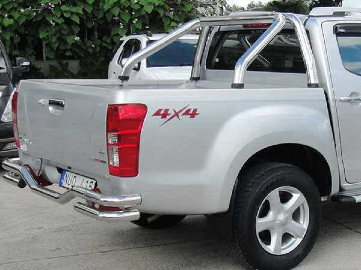 Chevrolet Colorado MK3 (2012-ON) Single Hoop Roll Bar 76mm Stainless Steel