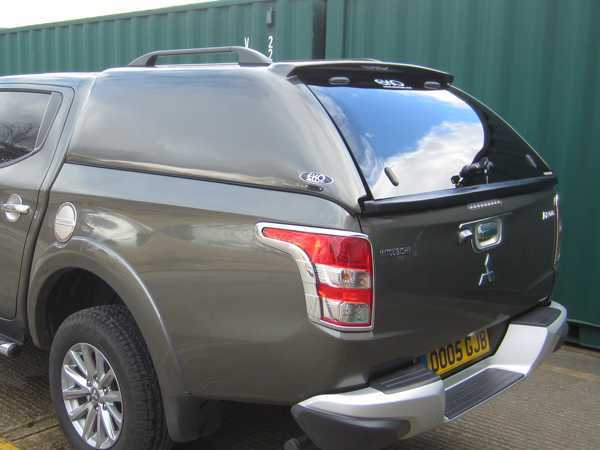 Fiat Fullback EKO Solid Sided Hardtop Double Cab - with Solid Rear Door Optional Extra