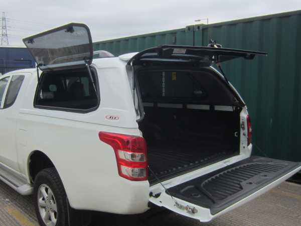 Mitsubishi L200 MK7 Series 5 (2015-2019) SJS Side Opening Hardtop Extra Cab - Central Locking Optional Extra