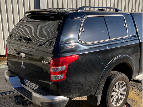 Mitsubishi L200 MK8 Series 6 (2019-ON) SJS Hardtop Extra Cab - Central Locking Optional Extra
