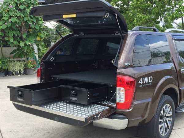 Mercedes-Benz X-Class Low Tray Bins