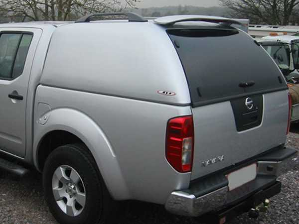 Nissan Navara D40 MK2 (2010-2016) SJS Solid Sided Hardtop Double Cab - Central Locking Optional Extra