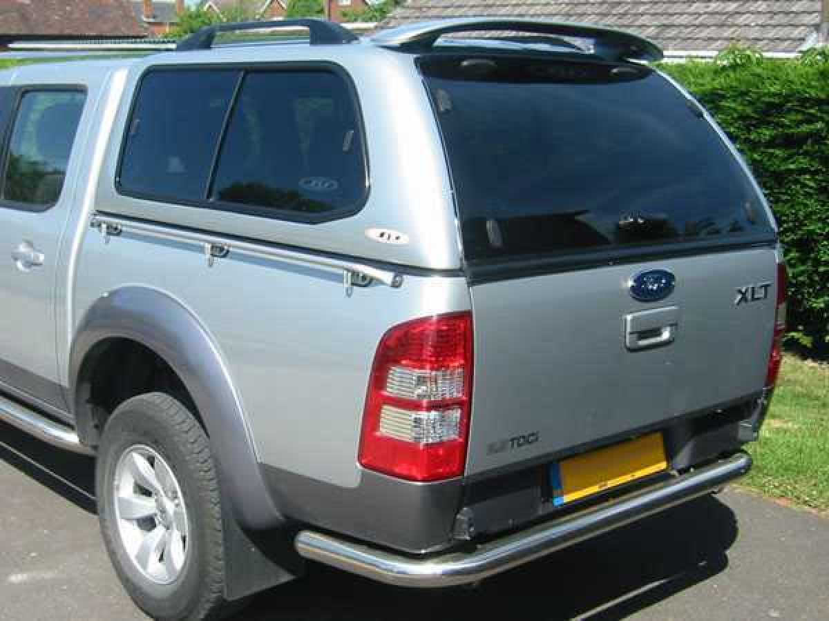 Ford Ranger MK4 (2009-2012) SJS Hardtop Double Cab  - Central Locking Optional Extra