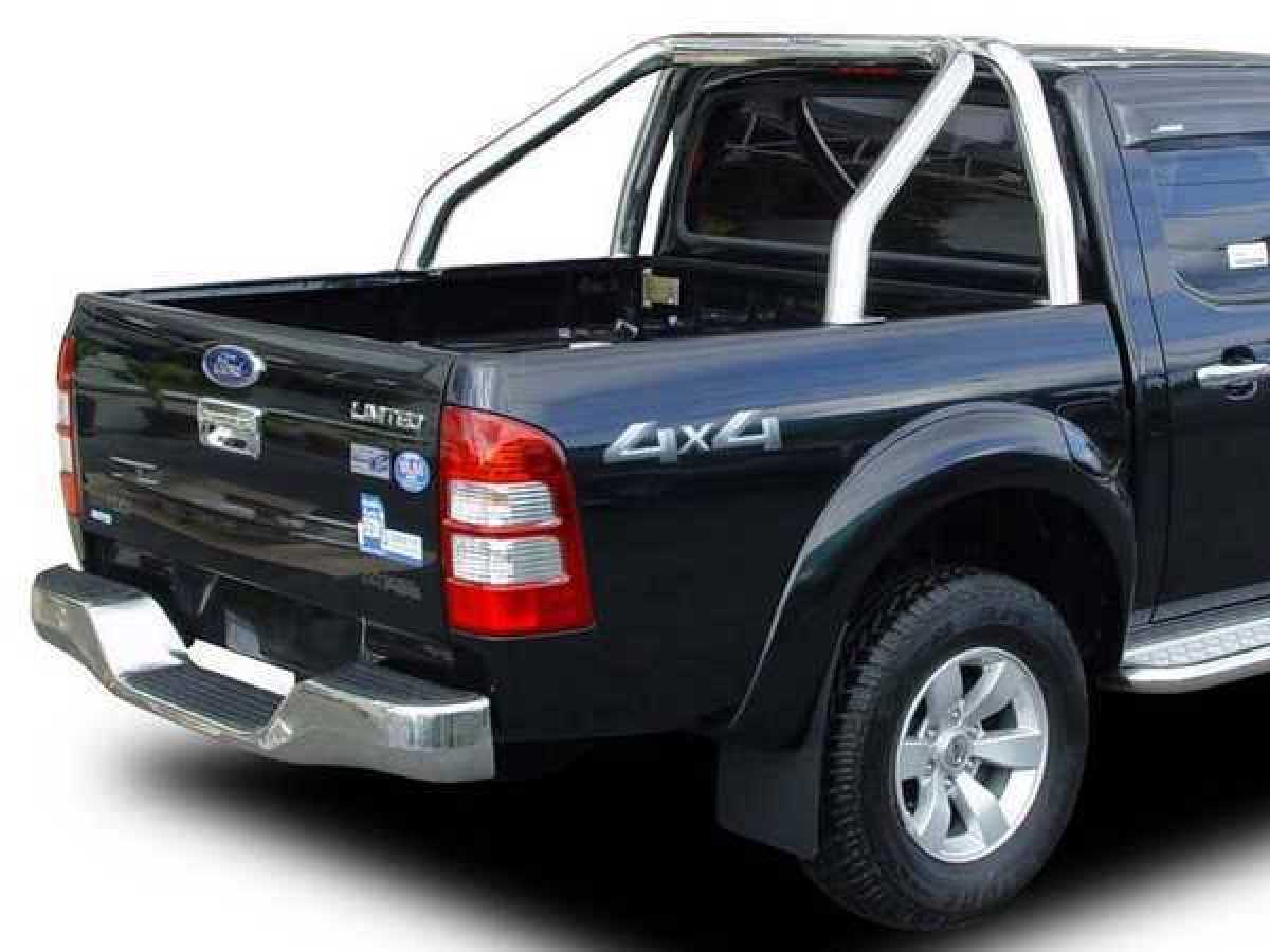 Ford Ranger MK4 (2009-2012) Mk 4 Single Hoop Roll Bar 76mm Stainless Steel