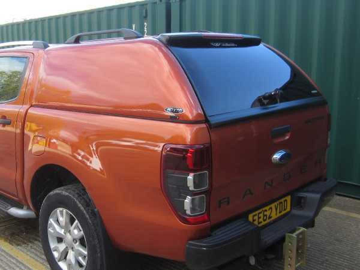 Ford Ranger MK6 (2016-ON) XTC Solid Sided Hardtop Double Cab