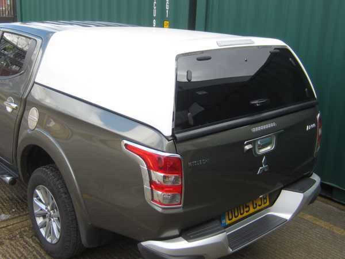 Ford Ranger MK6 (2016-ON) Werk Commercial Hardtop Double Cab
