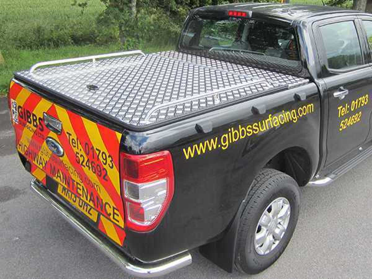 Ford Ranger MK6 (2016-ON) Aluminium Tonneau Cover