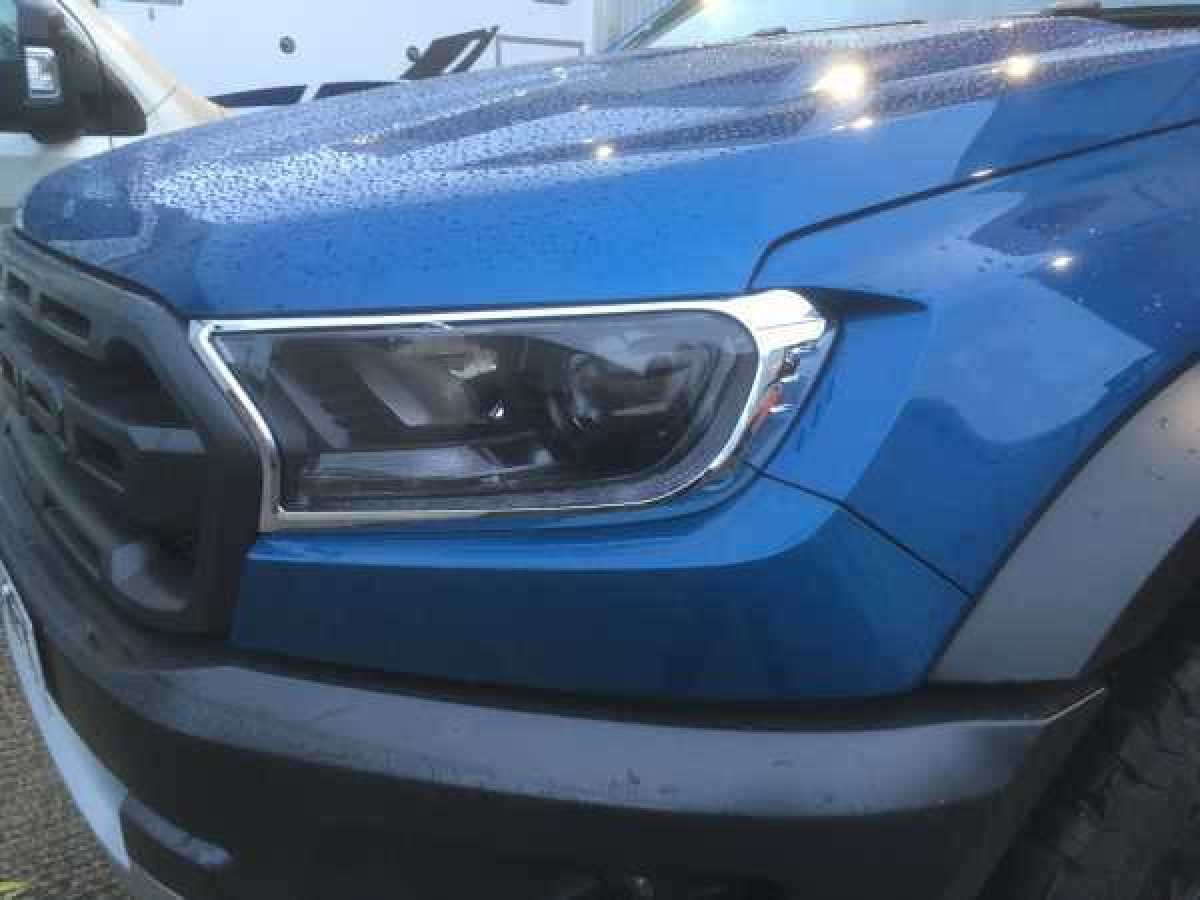 Ford Ranger MK6 (2016-ON) Headlight covers - CHROME Double Cab