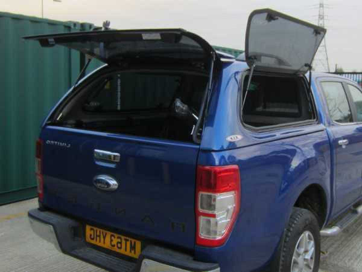 Ford Ranger MK7 (2019-ON) SJS Side Opening Hardtop Double Cab  - Central Locking Optional Extra
