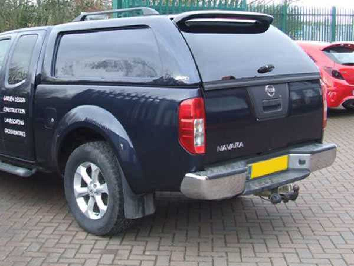 Ford Ranger MK3 (2006-2009) XTC Solid Sided Hardtop Extra Cab