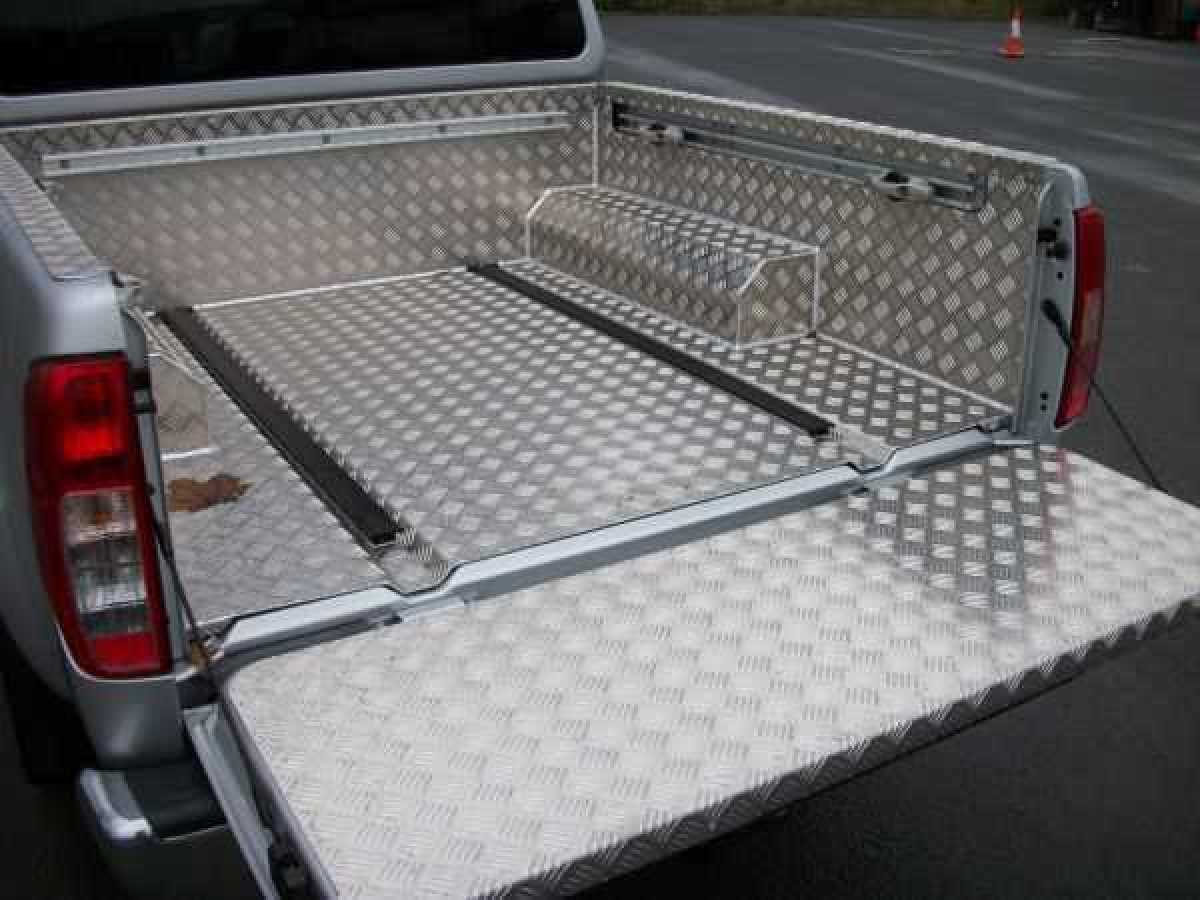 Great Wall Steed Aluminium Load Liner