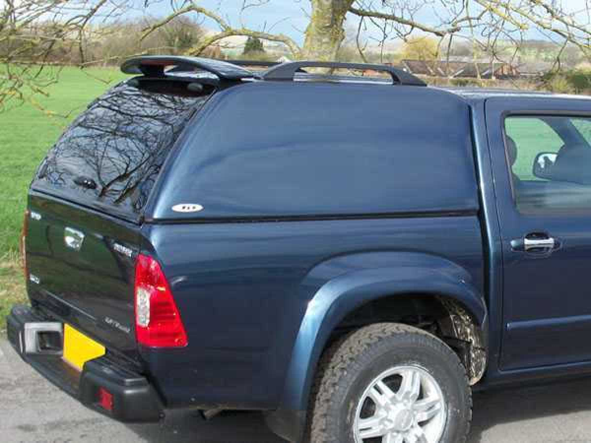 Isuzu Rodeo / D-Max MK 1-3  (2003-2012) SJS Solid Sided Hardtop Double Cab - Central Locking Optional Extra
