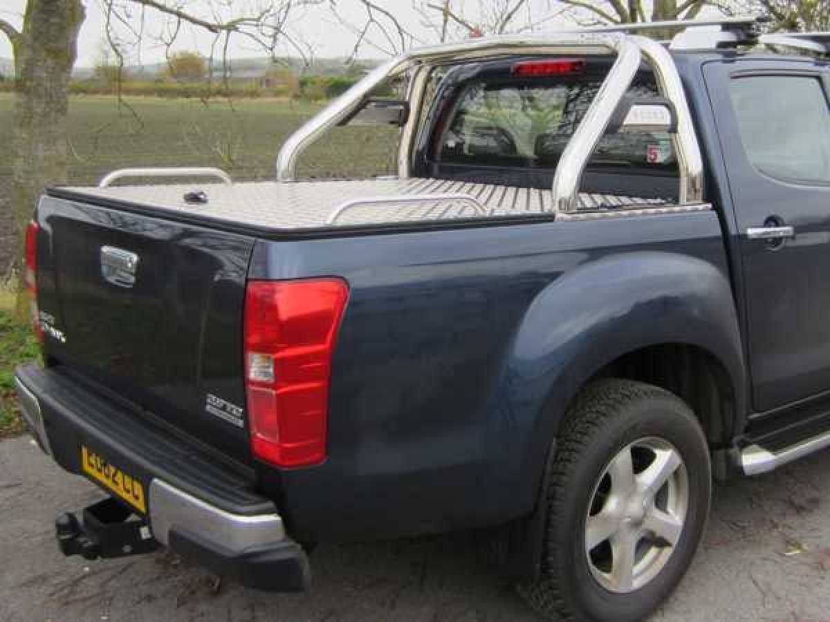 Isuzu D-Max MK4 (2012-2017) Aluminium Tonneau Covers With Sport Bar