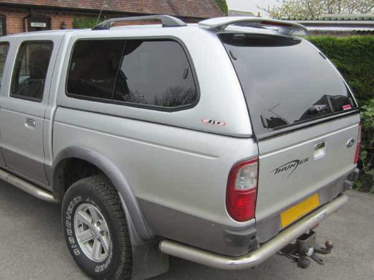Mazda B2500 MK3 (1999-2006) SJS Hardtop Double Cab - Central Locking Optional Extra