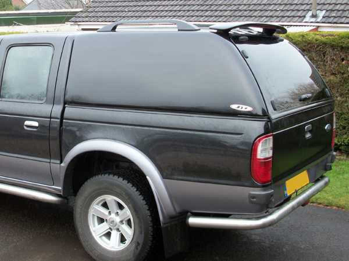 Mazda B2500 MK3 (1999-2006) SJS Solid Sided Hardtop Double Cab - Central Locking Optional Extra