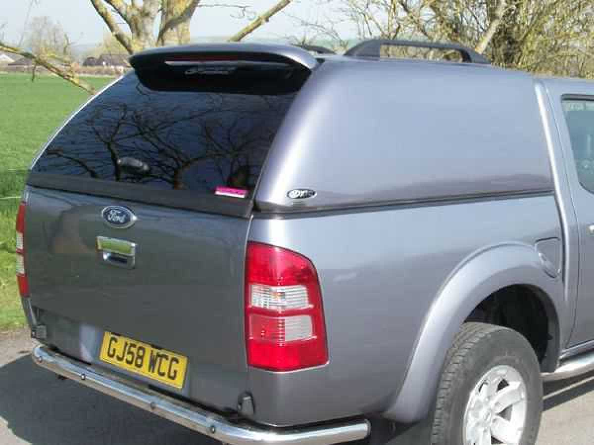 Mazda BT-50 (2006-2012) - XTC Solid Sided Hardtop Double Cab