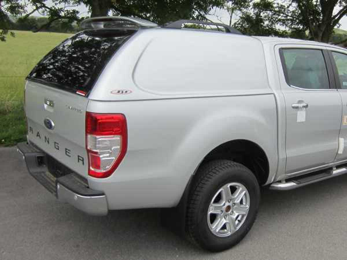 Mazda BT-50 (2012-ON) - SJS Solid Sided Hardtop Double Cab  - Central Locking Optional Extra