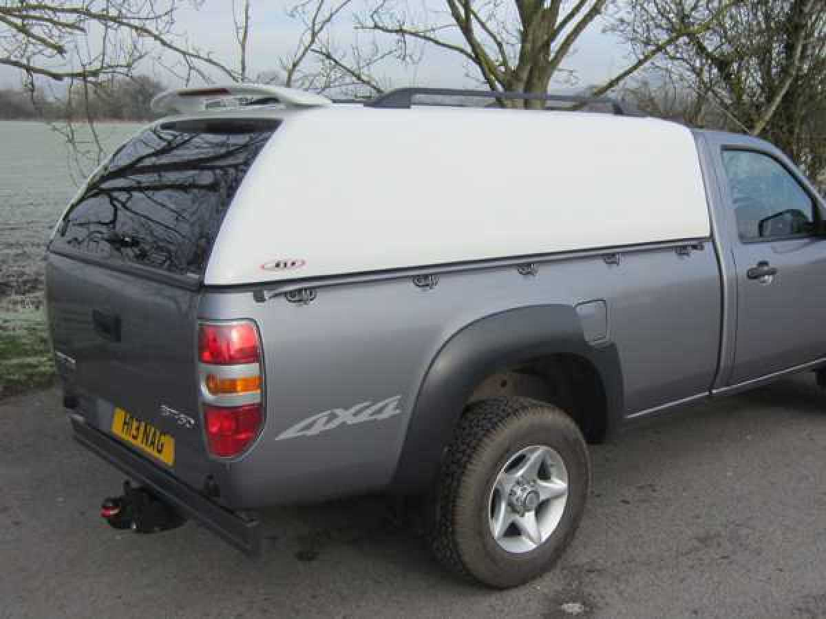 Mazda BT-50 (2006-2012) - SJS Solid Sided Hardtop Single Cab  - Central Locking Optional Extra