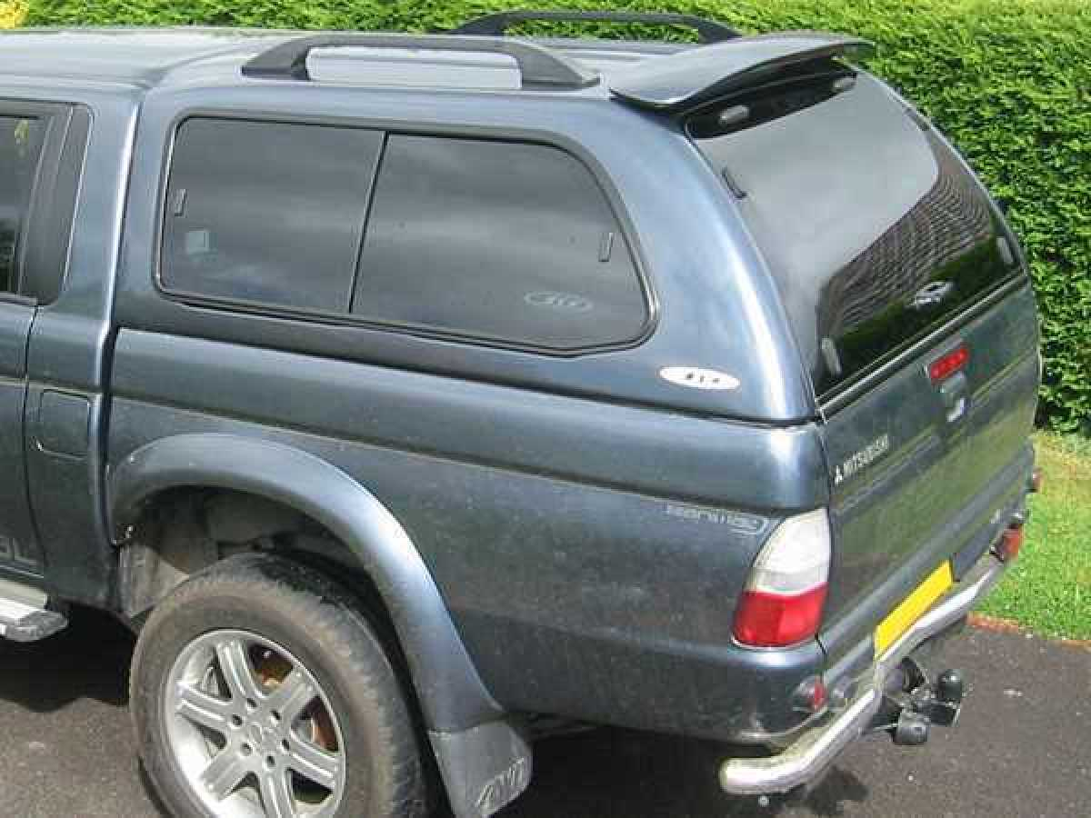 Mitsubishi L200 MK3-4  (1997-2006) SJS Hardtop Double Cab - Central Locking Optional Extra