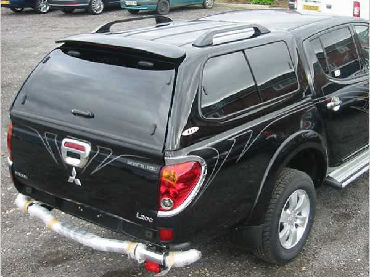 Mitsubishi L200 MK6 LB Series 4 (2009-2015) SJS Hardtop Double Cab - Central Locking Optional Extra