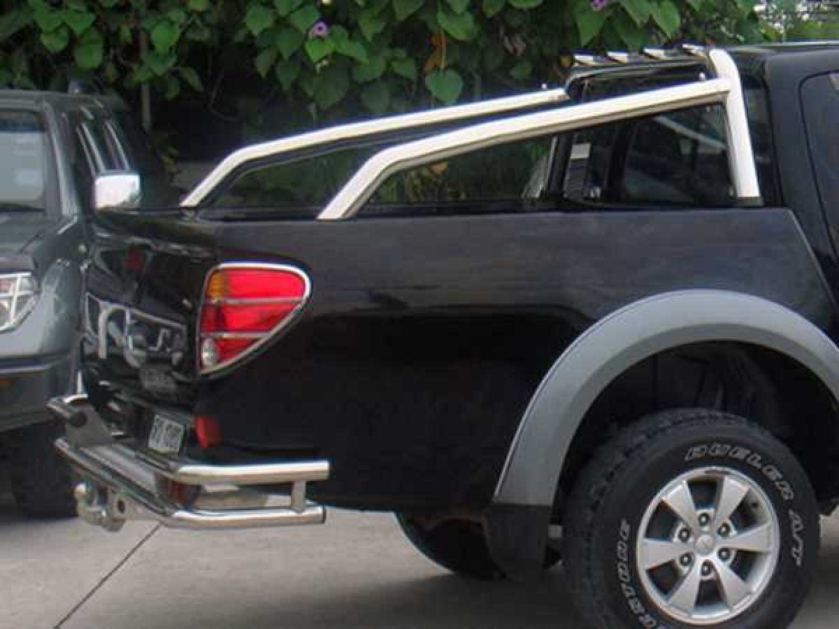 Mitsubishi L200 MK6 LB Series 4 (2009-2015) Mk 6 Single Hoop Roll Bar 76mm Stainless Steel