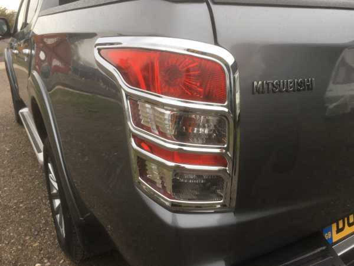 Mitsubishi L200 MK7 Series 5 (2015-2019) Taillight covers - CHROME Double Cab