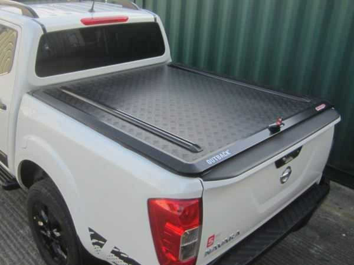 Nissan Navara NP300 (2016-ON) Outback Tonneau Cover Black Edition Double Cab