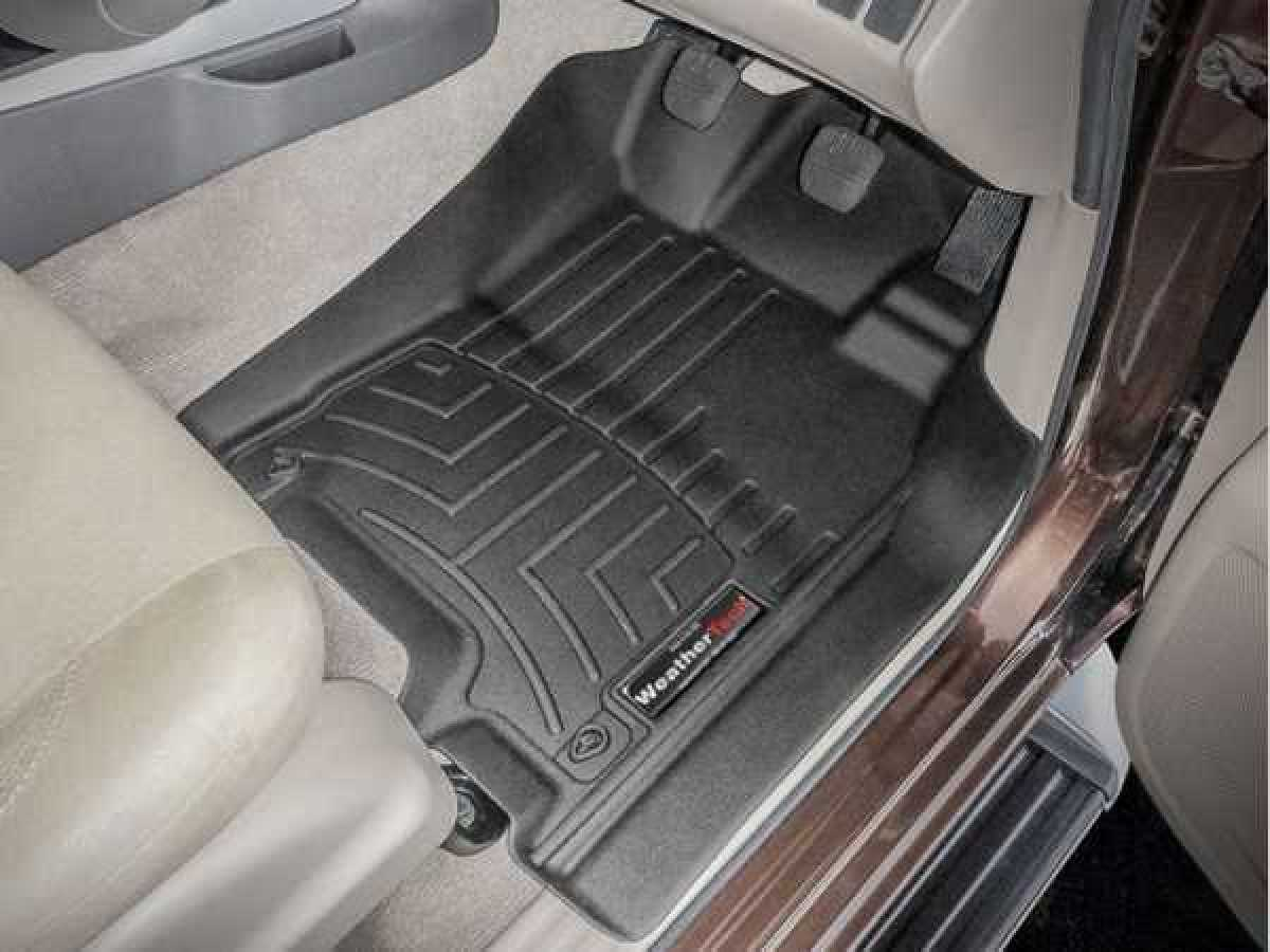 Toyota Hilux MK9 / Rocco (20-ON) Weather Tech Floor Mats Full Set – Automatic Only