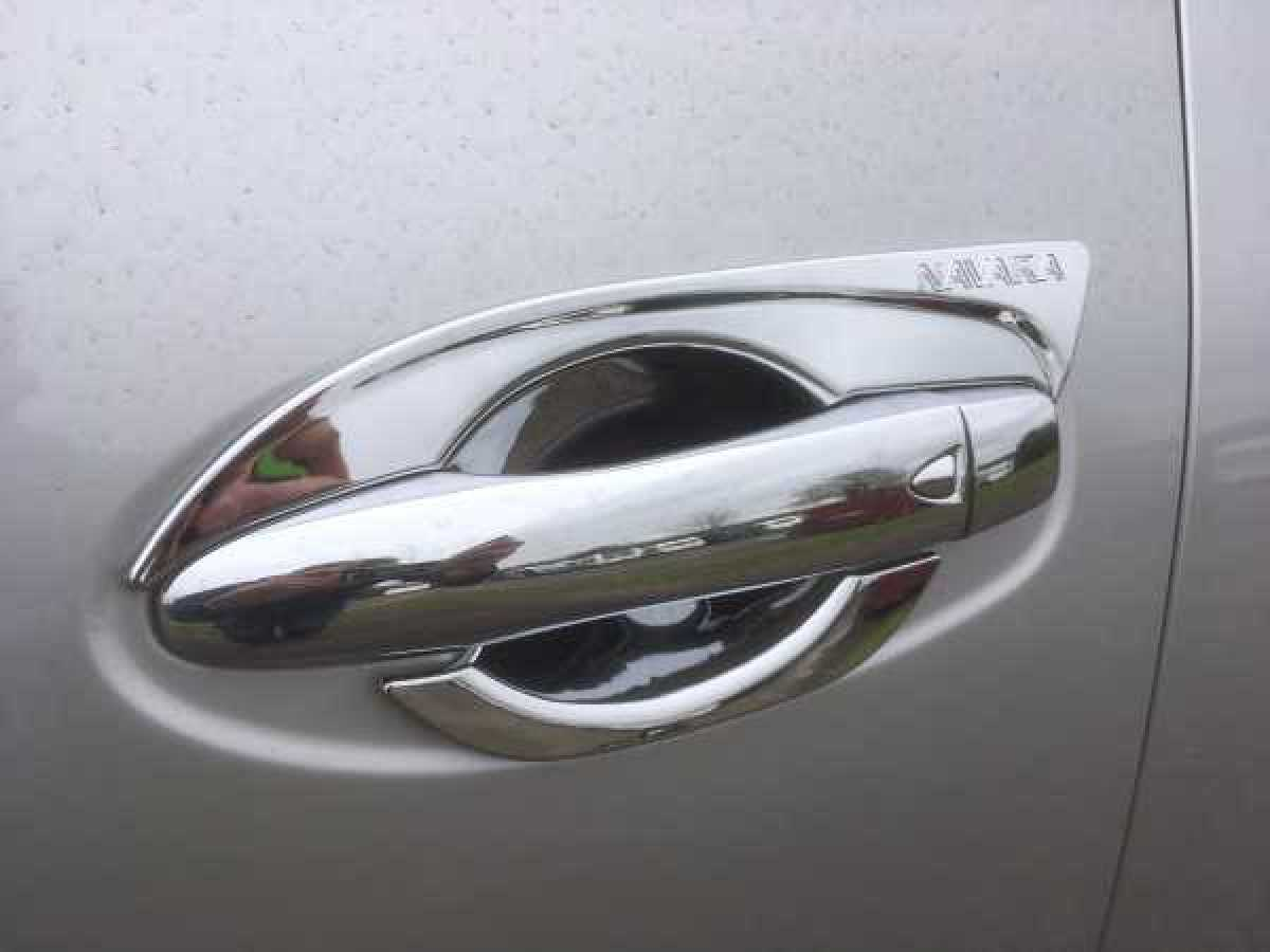 Nissan Navara NP300 (2016-ON) Door handle inserts - Chrome Double Cab