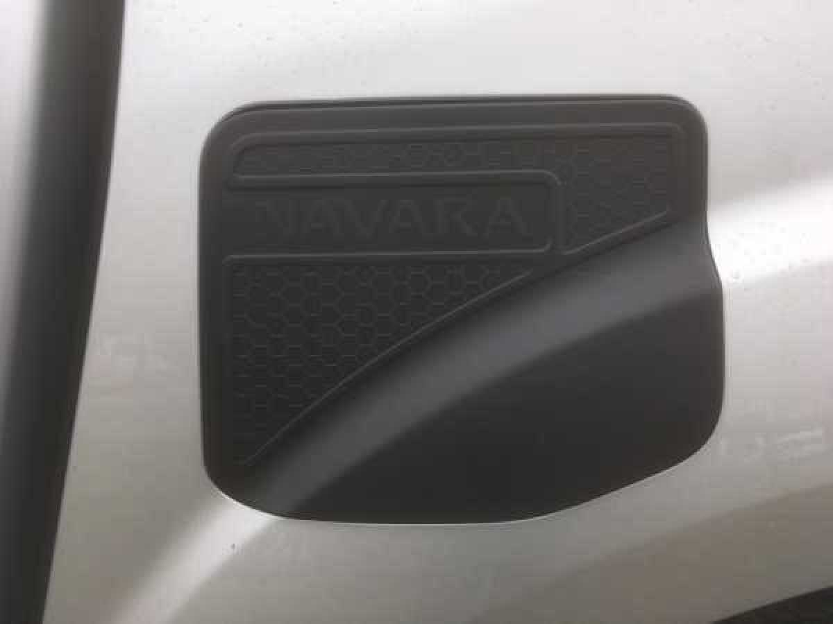 Nissan Navara NP300 (2016-ON) Fuel Filler Cover - BLACK Double Cab