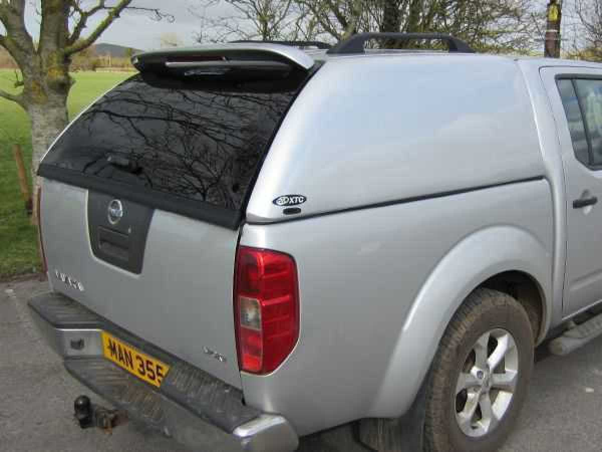 Nissan Navara D40 MK1 (2005-2010) XTC Solid Sided Hardtop Double Cab
