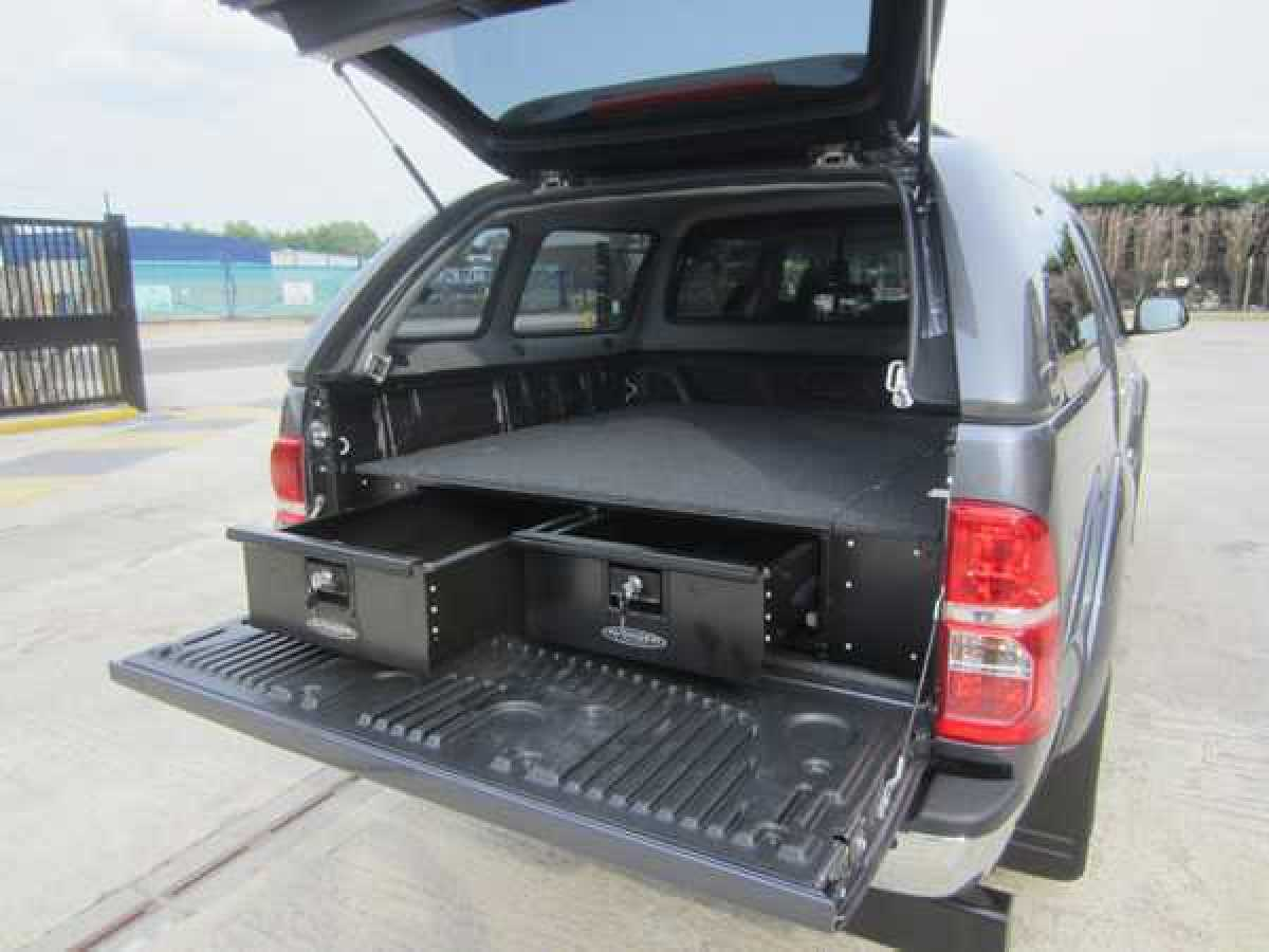 Nissan Navara D40 MK1 (2005-2010) Low Tray Bins