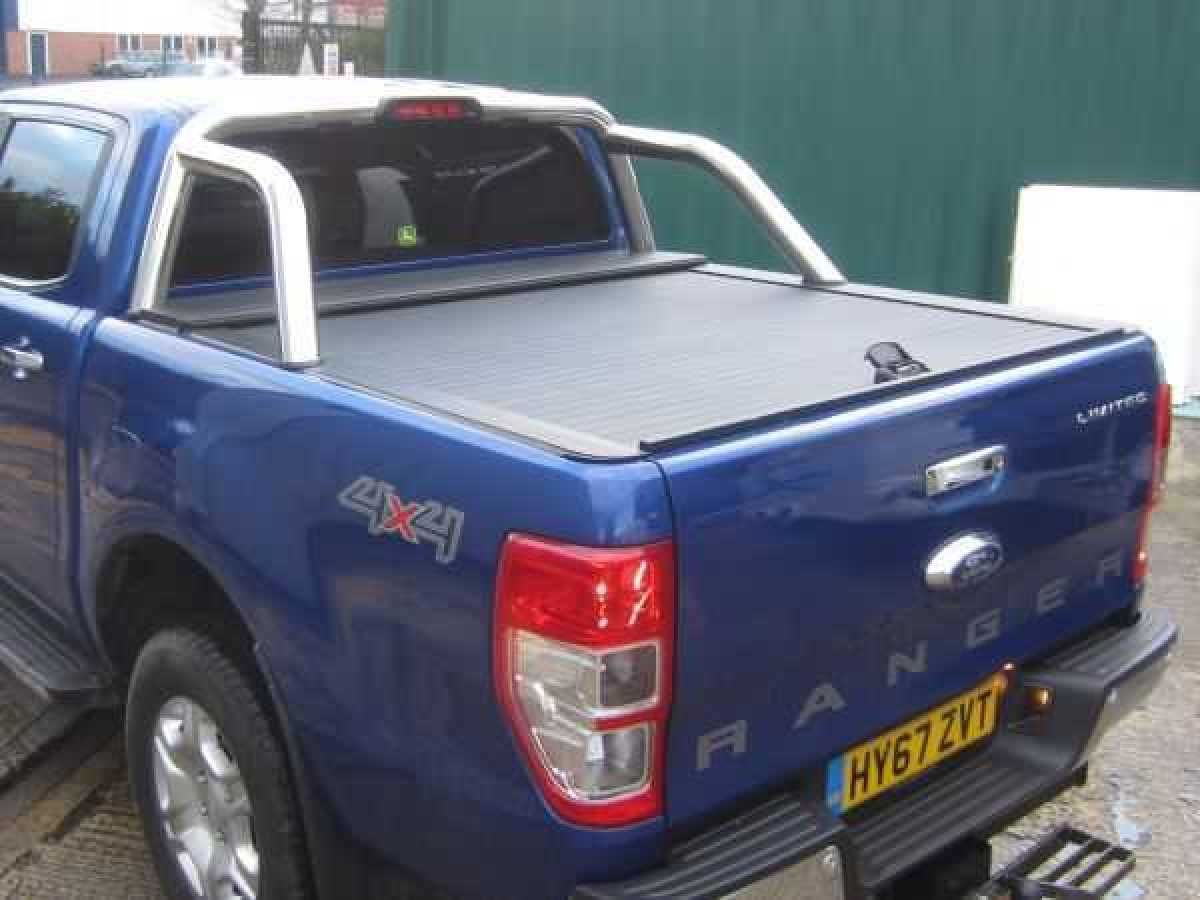 USED Ford Ranger T6 MK5/6/7 Armadillo Roller Top with Sport Bar Double Cab
