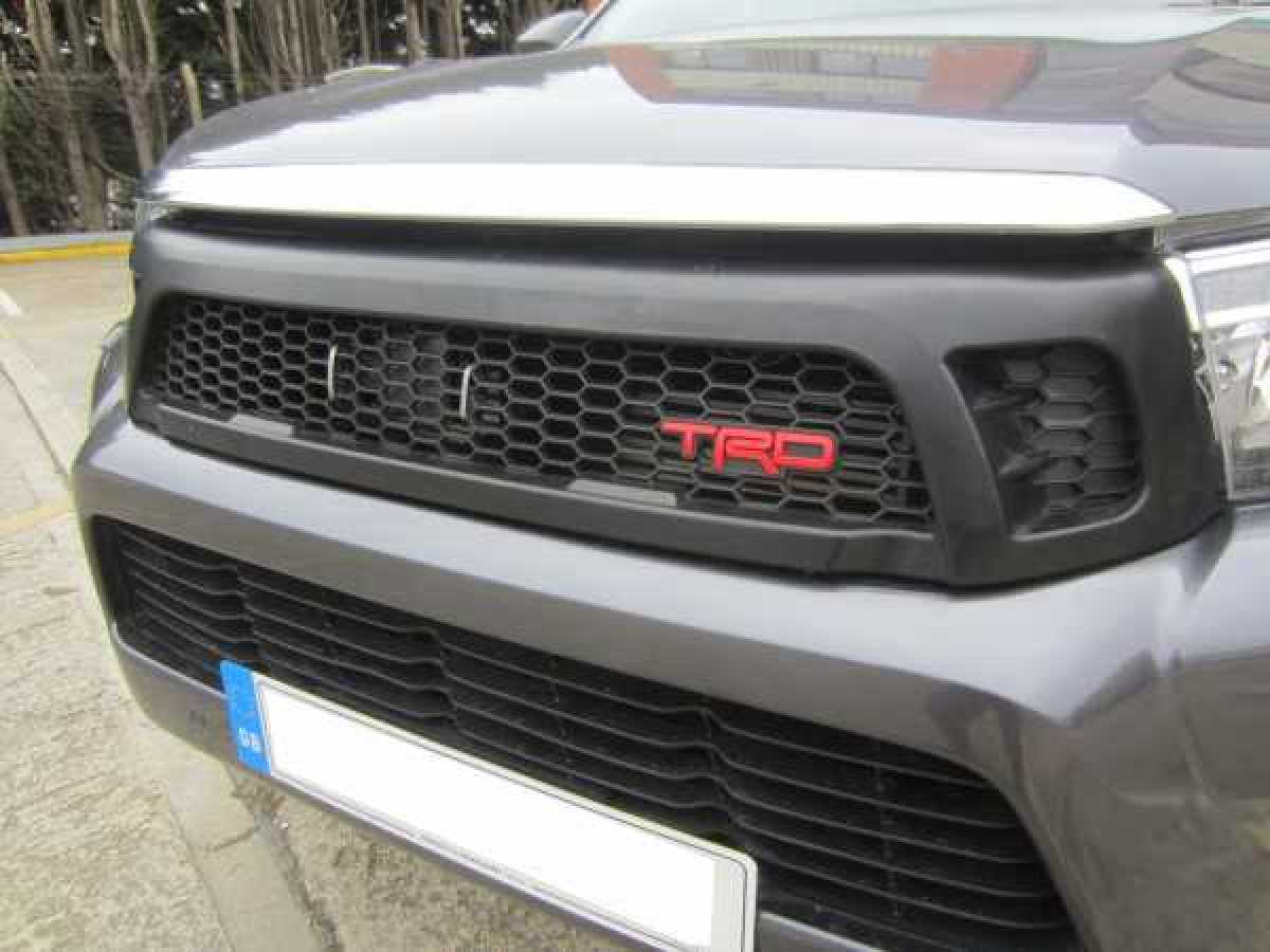 Toyota Hilux Revo MK9 2016-2018 TRD Style Front Mesh Grill – Black