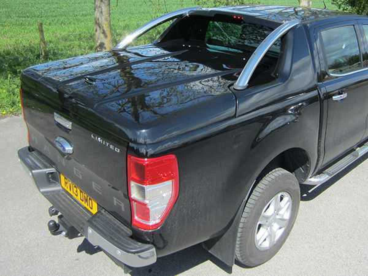 Toyota Hilux MK9 / Revo (2016-2018) GRX Tonneau Covers With Sport Bar