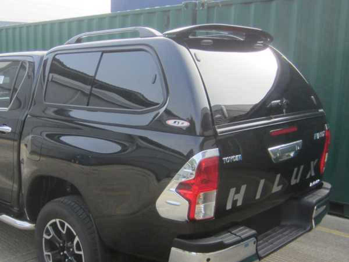 Toyota Hilux MK10 / Revo (2018-ON) SJS Hard Top Double Cab - Central Locking Optional Extra