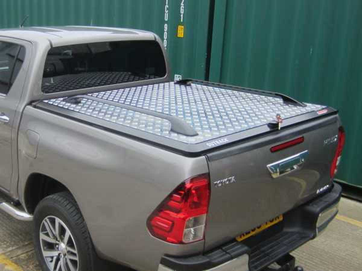 Toyota Hilux MK10 / Revo (2018-ON) Outback Tonneau Cover Double Cab