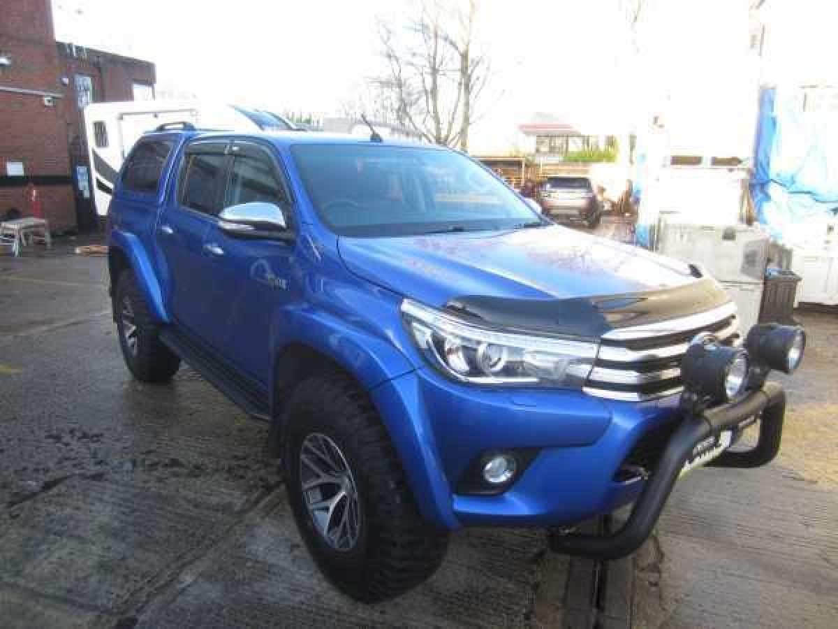 photo for Toyota Hilux MK11 / Rocco ( 2020-ON) Front & Rear Wind Deflectors