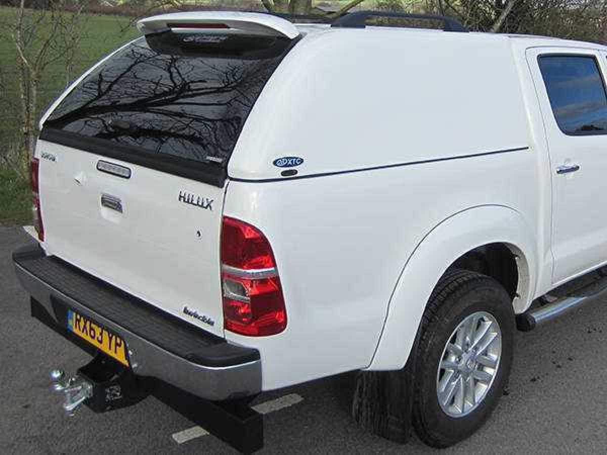 Toyota Hilux MK6 / Vigo (2005-2008) XTC Solid Sided Hardtop Double Cab