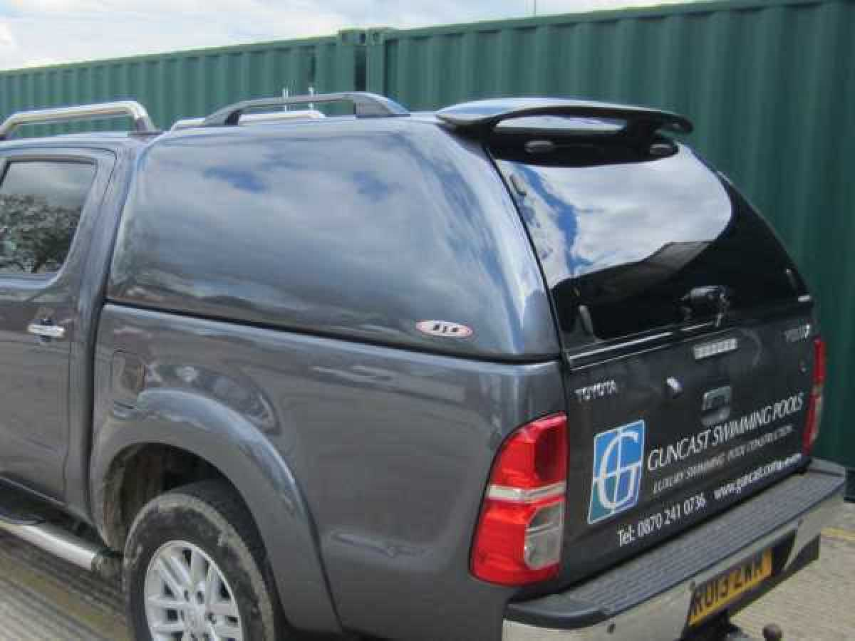 Toyota Hilux MK6 / Vigo (2005-2008) SJS Solid Sided Hardtop Double Cab - Central Locking Optional Extra