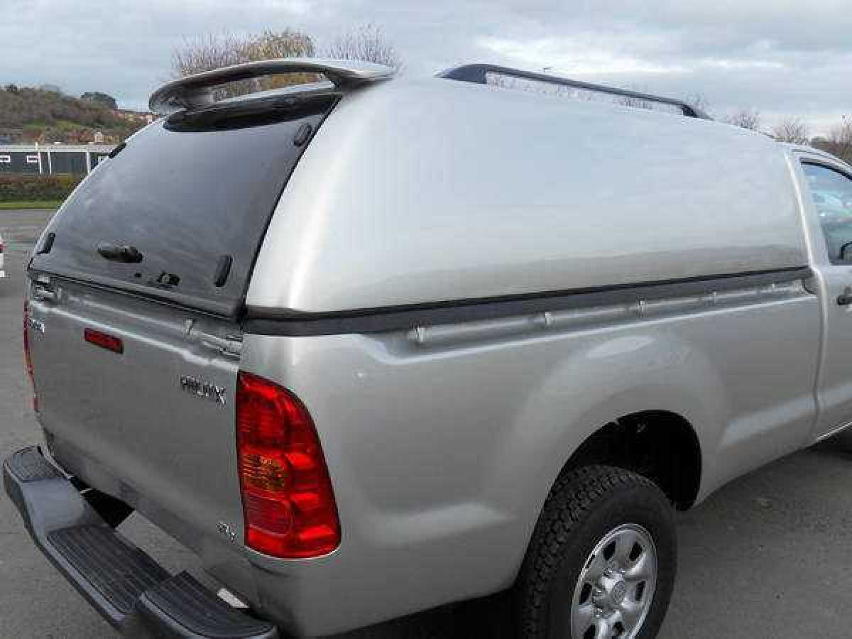 Toyota Hilux MK6 / Vigo (2005-2008) SJS Solid Sided Hardtop Single Cab - Central Locking Optional Extra