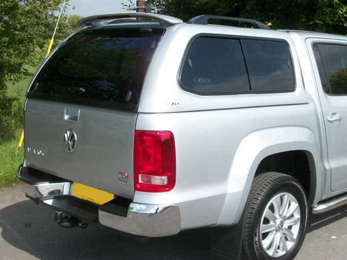 Volkswagen Amarok MK2 (2017-ON) SJS Hardtop Double Cab - Central Locking Optional Extra